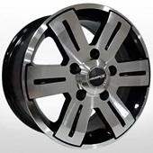 Автомобильный колесный диск R15 5*130 ZW-BK562 BP (Mercedes, VW) - W7.0 Et50 D84.1