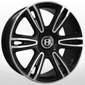 Автомобильный колесный диск R21 5*112 BN877 BKF (Bentley) - W9.5 Et41 D57.1