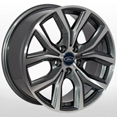 Автомобильный колесный диск R17 5*108 FD-1802 GMF (Ford) - W7.5 Et52 D63.4