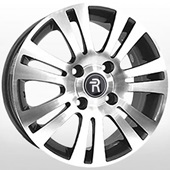 Автомобильный колесный диск R15 4*114,3 GN13 GMF (Chevrolet, Opel) - W6.0 Et44 D56.6