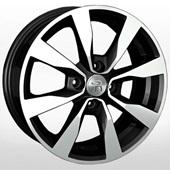Автомобильный колесный диск R15 4*100 GN86 BKF (Chevrolet, Opel) - W6.0 Et39 D56.6