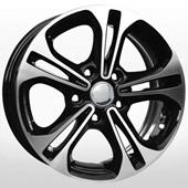 Автомобильный колесный диск R16 5*114,3 HND168 BKF (Hyundai, Kia) - W6.5 Et43 D67.1