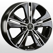 Автомобильный колесный диск R16 5*114,3 HND224 BKF (Hyundai, Kia) - W6.0 Et43 D67.1