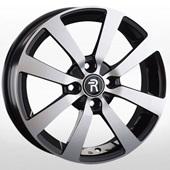 Автомобильный колесный диск R16 4*100 HND259 BKF (Hyundai, Kia) - W6.0 Et49 D54.1