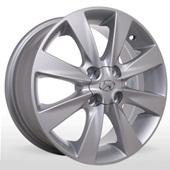 Автомобильный колесный диск R15 4*100 HY-2402 S (Hyundai) - W6 Et43 D54.1