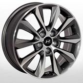 Автомобильный колесный диск R17 5*114,3 HY-2411 GMF - W6.5 Et46 D67.1