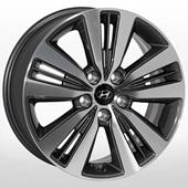 Автомобильный колесный диск R17 5*114,3 HY-2412 GMF - W7.0 Et51 D67.1