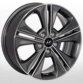 Автомобильный колесный диск R17 5*114,3 HY-2414 GMF - W6.5 Et48 D67.1