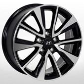 Автомобильный колесный диск R17 5*114,3 HY-2416 BMF - W7.0 Et52 D67.1