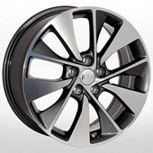 Автомобильный колесный диск R18 5*114,3 HY-2418 GMF - W7.5 Et52 D67.1