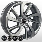 Автомобильный колесный диск R17 5*114,3 HY-2419 DS - W7.0 Et51 D67.1