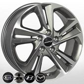 Автомобильный колесный диск R17 5*114,3 HY-2420 GMF - W7.0 Et53 D67.1