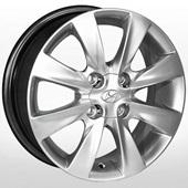 Автомобильный колесный диск R14 4*100 HY-2422 HS (Hyundai) - W5.5 Et43 D54.1