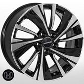 Автомобильный колесный диск R17 5*114,3 JH-04375 BP - W7.5 Et55 D64.1
