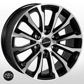 Автомобильный колесный диск R17 6*139,7 ZW-010 BP (Toyota, Lexus) - W7.5 Et25 D106.1