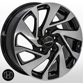 Автомобильный колесный диск R16 5*114,3 JH-10164 BP (Honda) - W6.5 Et45 D64.1