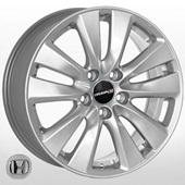 Автомобильный колесный диск R17 5*114,3 JH-1283 S (Honda) - W7.0 Et50 D64.1