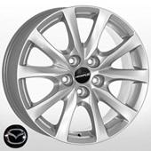 Автомобильный колесный диск R17 5*114,3 JH-1313 S - W7.5 Et50 D67.1