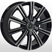 Автомобильный колесный диск R20 5*150 LX-1333 BP (Toyota, Lexus) - W8.5 Et45 D110.1