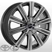 Автомобильный колесный диск R21 5*150 JH-1333 DGMF (Lexus, Toyota) - W8.5 Et54 D110.1