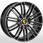 Автомобильный колесный диск R21 5*112 PR-1381 BP (Porsche) - W9.5 Et27 D66.6