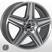 Автомобильный колесный диск R21 5*112 JH-5515 DGMF (Mercedes) - W10.0 Et46 D66.6