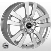 Автомобильный колесный диск R16 5*114,3 JH-5565 S (Nissan, Renault) - W6.5 Et42 D66.1