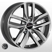 Автомобильный колесный диск R16 5*112 JH-5603 DSMF - W6.5 Et46 D57.1