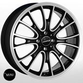 Автомобильный колесный диск R17 4*100 JH-8076 BMF (Mini) - W7.0 Et42 D56.1