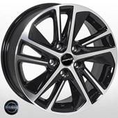 Автомобильный колесный диск R16 5*114,3 A5654 BP (Nissan) - W6.5 Et35 D66.1