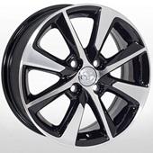 Автомобильный колесный диск R15 4*100 TY-8096 BMF (Toyota) - W5.5 Et45 D54.1