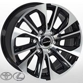Автомобильный колесный диск R18 6*139,7 TY-904 BMF (Toyota, Lexus) - W8.0 Et25 D106.1