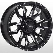 Автомобильный колесный диск R20 6*139,7 JH-XW009 BLACK - W9.0 Et10 D110.1