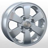 Автомобильный колесный диск R14 4*100 KI199 S (Kia, Hyundai) - W5.5 Et45 D54.1