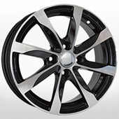 Автомобильный колесный диск R15 4*100 KI244 BKF (Kia, Hyundai) - W6.0 Et46 D54.1