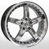 Автомобильный колесный диск R17 5*114,3 KR517 HP - W7 Et42 D73.1