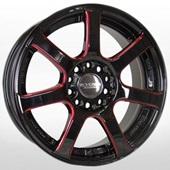 Автомобильный колесный диск R17 5*112 / 5*114,3 KR623 BKVR - W7 Et45 D73.1