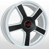 Автомобильный колесный диск R16 4*108 CI534 W+black (Citroen) - W6.5 Et23 D65.1