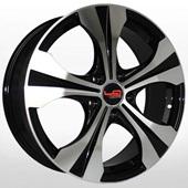 Автомобильный колесный диск R17 5*114,3 H40 BKF (Honda) - W6.5 Et50 D64.1