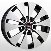 Автомобильный колесный диск R16 5*114,3 Ki65 BKF (Kia, Hyundai) - W6.5 Et45 D67.1