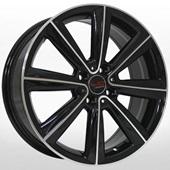 Автомобильный колесный диск R17 4*100 MN501 BKF (Mini) - W7.0 Et48 D56.1