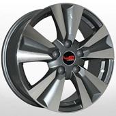 Автомобильный колесный диск R16 5*114,3 NS137 GMF (Nissan, Renault) - W6.5 Et45 D66.1