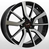 Автомобильный колесный диск R16 5*114,3 NS146 BKF (Nissan, Renault) - W6.5 Et40 D66.1