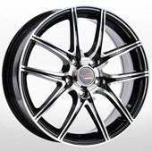 Автомобильный колесный диск R17 5*114,3 NS509 BKF (Nissan) - W6.5 Et40 D66.1