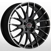 Автомобильный колесный диск R16 5*114,3 NS535 BKF (Nissan, Renault) - W6.5 Et40 D66.1