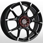 Автомобильный колесный диск R16 5*114,3 NS536 BKF (Nissan, Renault) - W6.5 Et40 D66.1