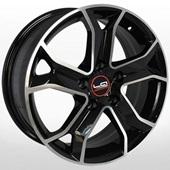 Автомобильный колесный диск R16 5*114,3 PG60 BKF (Peugeot) - W6.5 Et38 D67.1