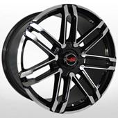Автомобильный колесный диск R20 5*130 PR505 BKF (Porsche) - W9.5 Et50 D71.6