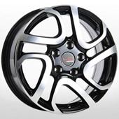 Автомобильный колесный диск R16 5*114,3 NS510 BKF (Nissan, Renault) - W6.5 Et40 D66.1