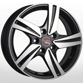 Автомобильный колесный диск R16 4*100 RN526 BKF (Renault) - W6.5 Et36 D60.1